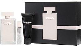 Düfte, Parfümerie und Kosmetik Narciso Rodriguez For Her - Duftset (Eau de Toilette/100ml + Eau de Toilette/10ml + Körperlotion/75ml)
