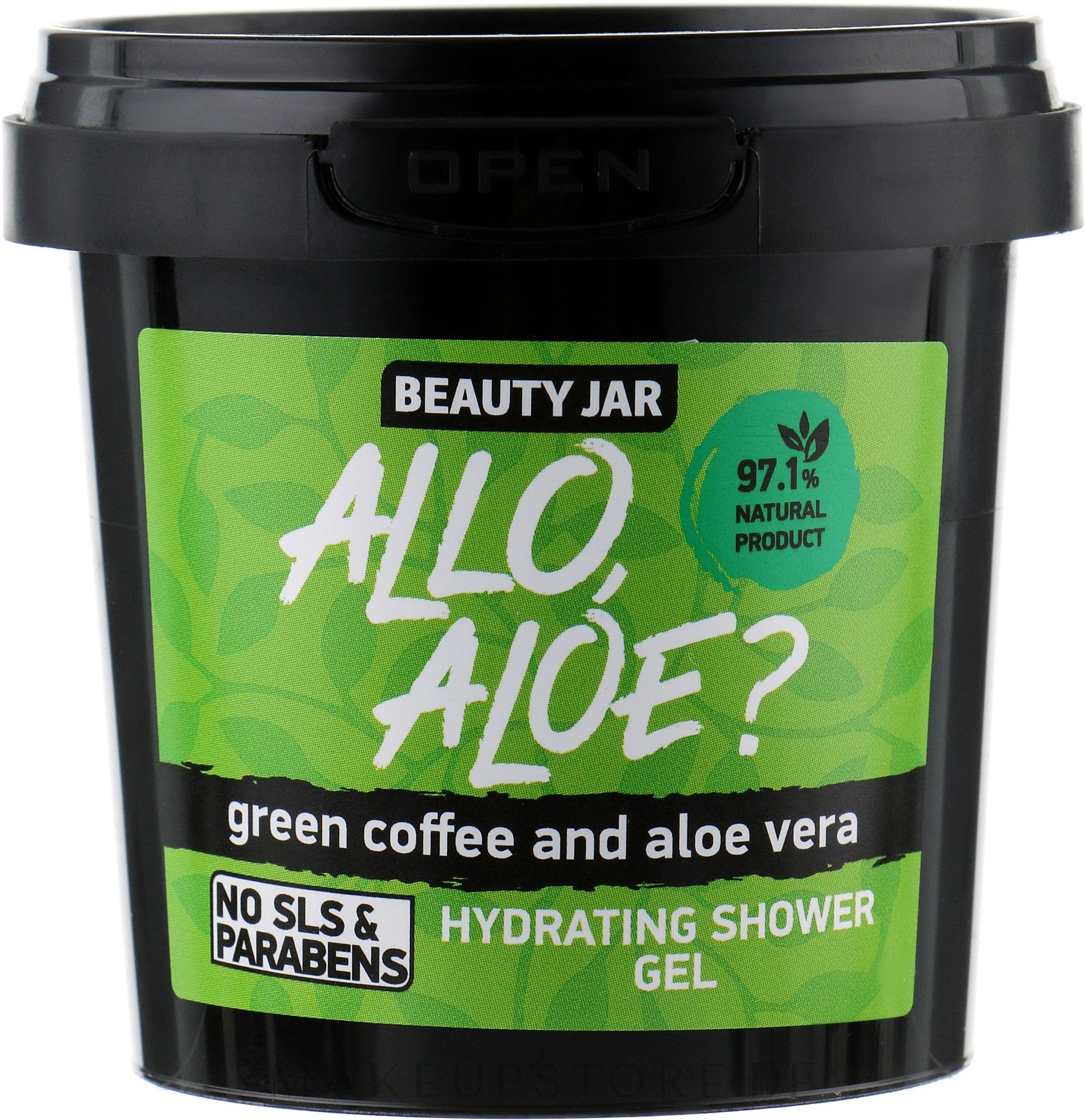 """Feuchtigkeitsspendendes Duschgel """"Allo, Aloe?"""" - Beauty Jar Hidrating Shower Gel — Bild 150 g"""