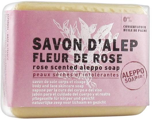 Pflegende Aleppo-Seife mit Rosenduft für trockene Gesichts- und Körperhaut - Tade Aleppo Rose Flower Scented Soap — Bild N1