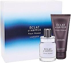 Düfte, Parfümerie und Kosmetik Lanvin Eclat d'Arpege Pour Homme - Duftset (Eau de Toilette 50ml + Duschgel 100ml)