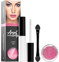 Düfte, Parfümerie und Kosmetik Make-up Set (Make-up Base 4ml + Lipgloss 3g) - Di Angelo Angel Lips
