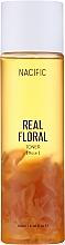 Düfte, Parfümerie und Kosmetik Feuchtigkeitsspendendes und beruhigendes Gesichtstonikum mit Rosenwasser - Nacific Real Floral Rose Toner