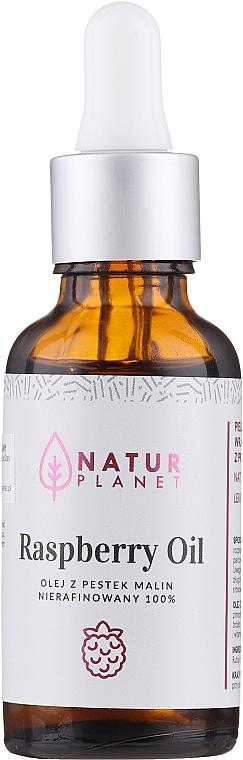 100% natürliches Himbeeröl - Natur Planet Raspberry Oil 100% — Bild N1
