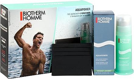 Pflegeset - Biotherm Aquapower Kit (Gesichtsemulsion/75ml + Kreditkartenetui) — Bild N1