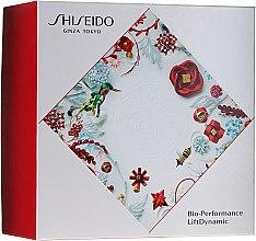 Düfte, Parfümerie und Kosmetik Gesichtspflegeset - Shiseido Bio Performance LiftDynamic Holiday Kit (Gesichtscreme mit Lifting-Effekt 50ml + Reinigungsschaum 15ml + Gesichtslotion 30ml + Energie aktivierendes Serum 5ml)