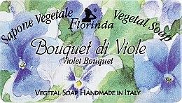 Düfte, Parfümerie und Kosmetik Naturseife Veilchenstrauß - Florinda Sapone Vegetale Vegetal Soap Violet Bouquet