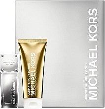 Düfte, Parfümerie und Kosmetik Michael Kors White Luminous Gold - Kosmetikset (Eau de Parfum/50ml + Körperlotion/100ml)