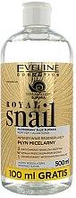 Düfte, Parfümerie und Kosmetik Mizellenwasser mit Schneckenschleimextrakt - Eveline Cosmetics Royal Snail