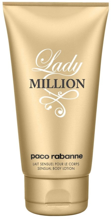 Paco Rabanne Lady Million - Körperlotion — Bild N1