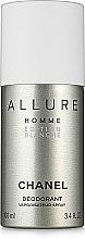 Düfte, Parfümerie und Kosmetik Chanel Allure Homme Edition Blanche - Deospray
