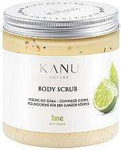 Düfte, Parfümerie und Kosmetik Peelingcreme für den Körper mit Limette und Algen - Kanu Nature Lime Body Scrub