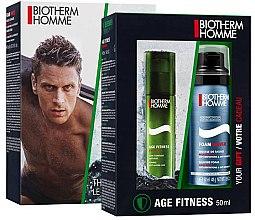 Düfte, Parfümerie und Kosmetik Gesichtspflege-Set - Biotherm Homme Aquapower (Gesichtslotion/50ml + Rasierschaum/50ml)