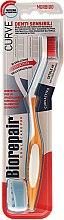 Düfte, Parfümerie und Kosmetik Zahnbürste weich Oral Care Pro orange-weiß - Biorepair Oral Care Pro