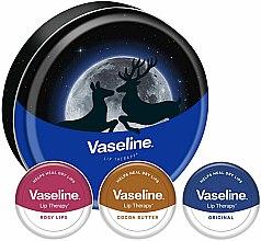 Düfte, Parfümerie und Kosmetik Lippenpflegeset - Vaseline Lip Therapy Selection (Lippenbalsam 3x20g)
