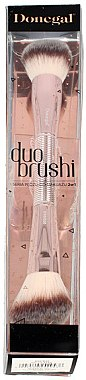 Doppelseitiger Highlighter und Puderpinsel 4204 - Donegal Duo Brushi — Bild N1