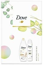 Düfte, Parfümerie und Kosmetik Körperpflegeset - Dove Revitalising Gift Set (Duschgel 250ml + Deospray 150ml)