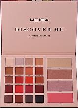 Düfte, Parfümerie und Kosmetik Make-up-Palette - Moira Discover Me Destiny Eye & Face Palette