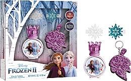 Düfte, Parfümerie und Kosmetik Geschenkset für Kinder - Disney Frozen (Eau de Toilette 30ml + Haar-Accessoires 2 St.+ Schlüsselanhänger)
