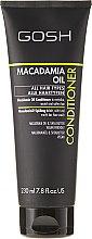 Düfte, Parfümerie und Kosmetik Haarspülung - Gosh Macadamia Oil