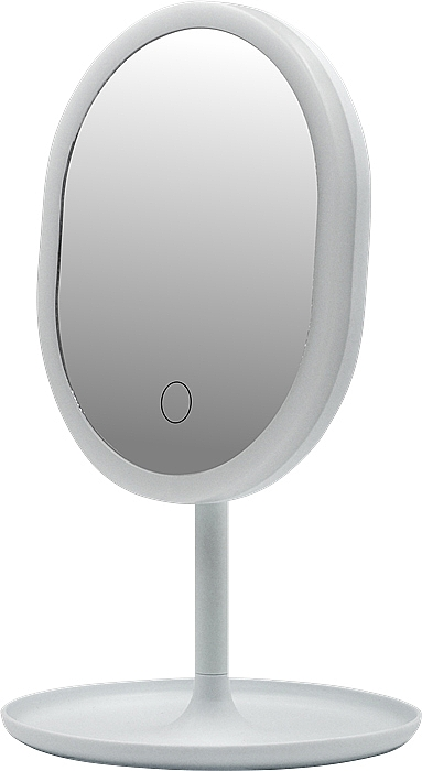 Spiegel mit LED-Lampe 498579 weiß - Inter-Vion LED With Mini USB — Bild N1