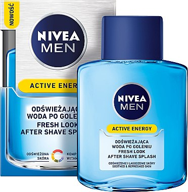 """After Shave Lotion """"Active Energy"""" - Nivea For Men Skin Energy After Shave Lotion  — Bild N1"""