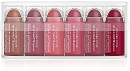 Düfte, Parfümerie und Kosmetik Matte Lippenstifte Set (6x0,5g) - Golden Rose Matte Lipsticks Mini Set