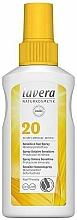 Düfte, Parfümerie und Kosmetik Sonnenschutzspray mit mineralischem Sofortschutz für empfindliche Haut SPF - Lavera Sensitive Sun Spray SPF 20