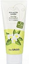 Düfte, Parfümerie und Kosmetik Gesichtsreinigungsschaum mit grünem Tee - The Saem Healing Tea Garden Green Tea Cleansing Foam