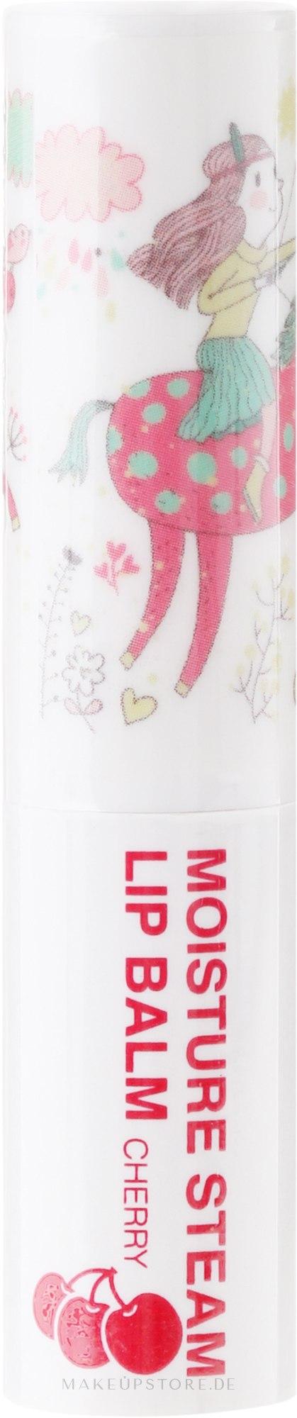 Feuchtigkeitsspendender Lippenbalsam Kirsche - Seantree Moisture Steam Lip Balm Cherry Stick (Design 2) — Bild 3.2 g