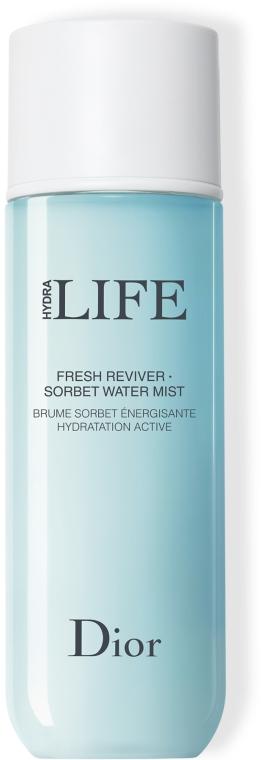 Energetisierendes und feuchtigkeitsspendendes Gesichtsspray - Dior Hydra Life Fresh Reviver Sorbet Water Mist — Bild N1