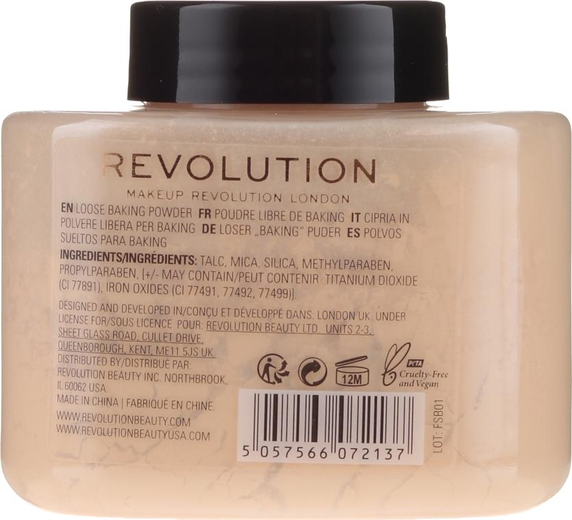 Bananen-Puder - Makeup Revolution Banana Baking Powder — Bild N2