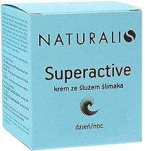 Düfte, Parfümerie und Kosmetik Gesichtscreme für Tag und Nacht mit Schneckenextrakt - Naturalis Superactive Snail Cream