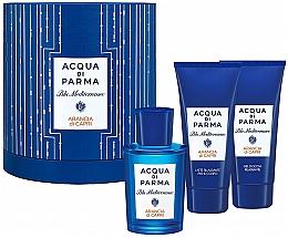 Düfte, Parfümerie und Kosmetik Acqua di Parma Blu Mediterraneo Arancia di Capri - Duftset (Eau de Toilette 75ml + Duschgel 75ml + Körperlotion 75ml)