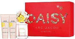 Düfte, Parfümerie und Kosmetik Duftset - Marc Jacobs Daisy Eau So Fresh (Eau de Toilette 75ml + Körperlotion 75ml + Duschgel 75ml)
