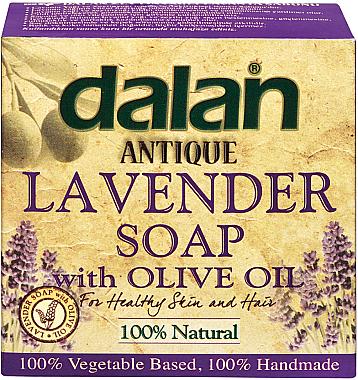 Naturseife mit Lavendel und Olivenöl - Dalan Antique Soap Lavander With Olive Oil 100% — Bild N1