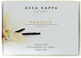 Düfte, Parfümerie und Kosmetik Parfümierte Körperseife mit Vanille - Acca Kappa Vaniglia