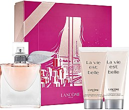 Düfte, Parfümerie und Kosmetik Lancome La Vie Est Belle - Duftset (Eau de Parfum 50ml + Duschgel 50ml + Körperlotion 50ml)