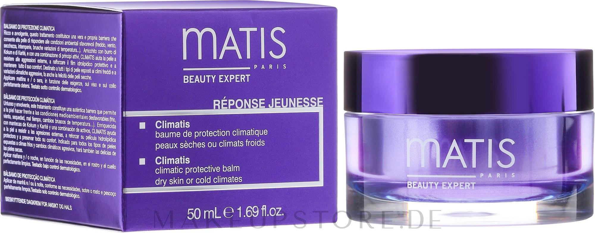 Gesichtsschutzbalsam - Matis Reponse Jeunesse Climatis Protective Balm — Bild 50 ml