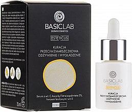 Düfte, Parfümerie und Kosmetik Pflegedes und glättendes Anti-Falten Gesichtsserum - BasicLab Dermocosmetics Esteticus