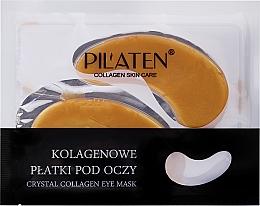 Düfte, Parfümerie und Kosmetik Augenpatches mit Kollagen - Pilaten Crystal Collagen Eye Mask