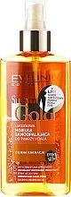 Düfte, Parfümerie und Kosmetik 5in1 Selbstbräuner für dunkle Haut - Eveline Cosmetics Summer Gold Spray