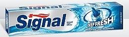 Düfte, Parfümerie und Kosmetik Erfrischende Zahnpasta - Signal Deep Fresh Aquamint Toothpaste
