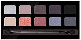 Düfte, Parfümerie und Kosmetik Lidschattenpalette mit 10 Farben - Pierre Rene Palette Match System Eyeshadow Noble Coral