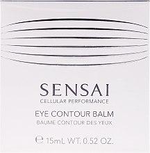 Düfte, Parfümerie und Kosmetik Augenkonturgel - Kanebo Sensai Cellular Performance Eye Contour Balm
