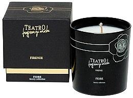 Duftkerze Fiore - Teatro Fragranze Uniche Luxury Collection Fiore Scented Candle — Bild N3