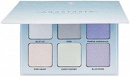 Düfte, Parfümerie und Kosmetik Highlighter Palette mit 6 Farben - Anastasia Beverly Hills Glow Kit Highlighter