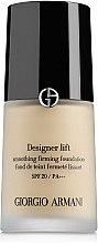 Düfte, Parfümerie und Kosmetik Straffende Foundation mit LSF 20 - Giorgio Armani Designer Lift Smoothing Firming Foundation SPF 20
