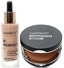 Düfte, Parfümerie und Kosmetik Make-up Set - Swederm (Gesichtsbronzer 13g + Foundation 30ml)