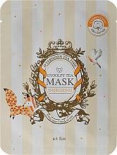 Düfte, Parfümerie und Kosmetik Energiespendende Tuchmaske - A:t fox Energizing Gyoolpy Tea Mask