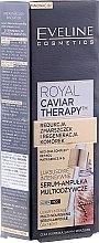 Düfte, Parfümerie und Kosmetik Zwei-Phasen Intensivpflegendes Gesichtsserum - Eveline Cosmetics Royal Caviar Therapy Serum Multinourishing Ampoule